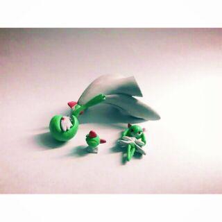 夢拉玩具 神奇寶貝立體圖鑑 沙奈朵