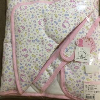 Hello kitty嬰兒包巾