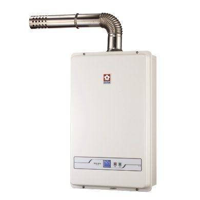 櫻花牌 SH1338 13L數位恆溫熱水器 (限北北基地區購買安裝)