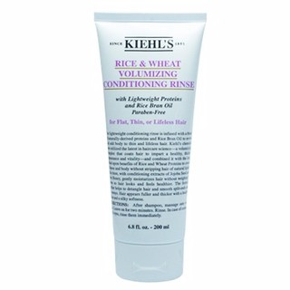 [限時優惠]下殺3折起! 全新 Kiehl's Kiehls 契爾氏 米麥蛋白潤髮乳200ML