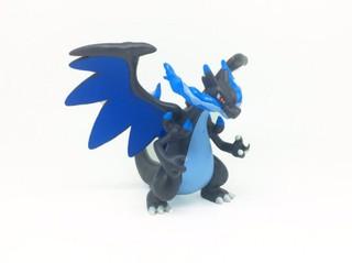 日本精品 Pokemon 噴火龍口袋妖怪 正版TOMY 3cm小號公仔MEGA火龙x 聖誕禮物生日禮物交換禮皮卡丘寶可夢