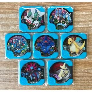 神奇寶貝 Pokemon Tretta 第6彈  3星 (05-07~13)  特價套裝!! 共7張