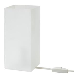 嫻嫻兒 IKEA代購 桌燈, 霧面玻璃 白色