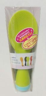 日本製 AKEBONO 搖擺不倒翁飯匙 飯勺 飯匙 不沾飯匙