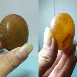 冰種清透蜜糖黃玉髓/原石