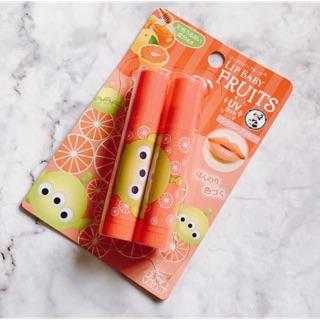 曼秀雷敦x迪士尼 Lip baby Fruits 水果嬰兒護唇膏