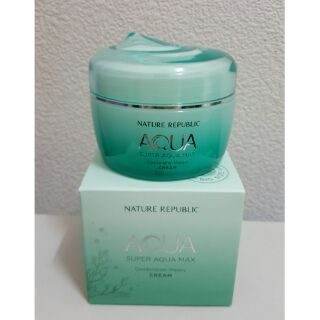 Nature Republic 高效保濕霜 (super aqua max cream)