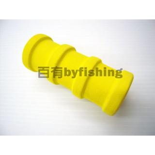 ◎百有釣具◎進口海棉 三節子線板(短圓柱型) 長:94mm 寬:40mm