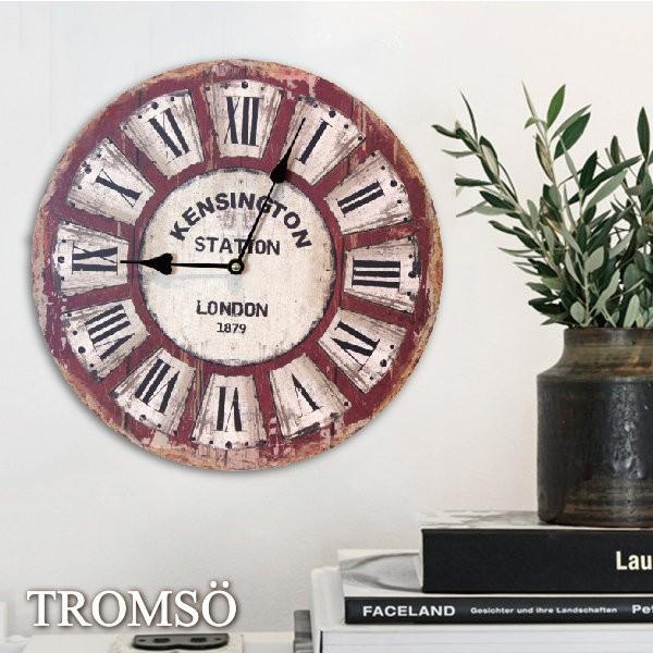 瑞典TROMSO 無框畫時鐘 倫敦老城-圓形時鐘 CW39掛鐘 羅馬 布置 工業 仿舊 大樹小屋☆【H0315039】