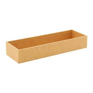 牛皮紙長形收納盒/23x7.5x4cm