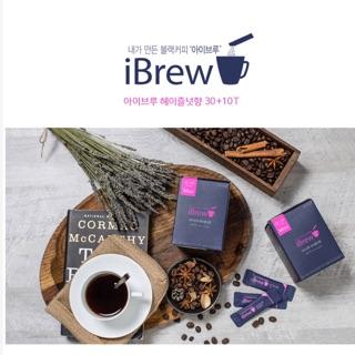 韓國ibrew榛果風味無糖黑咖啡