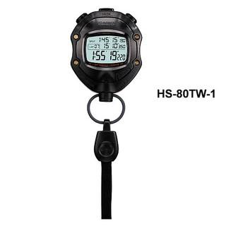 ~時間光廊~CASIO 碼表HS 80 教練 1 1000 秒馬錶200 筆圈數分割時間紀錄HS