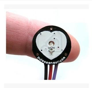 【TNA168賣場】pulsesensor 脈搏 心率感測器 Arduino相容 生物模擬感測器感應器(A028)