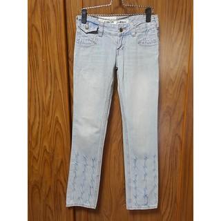 (R116)專櫃品牌V-MTX 藍色牛仔直筒褲 ~牧牧小舖~優質二手衣~