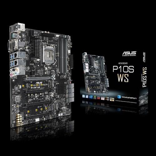 【買一送一】 ASUS 華碩 P10S WS 主機板 隨機送百元小禮