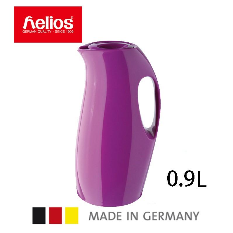 【德國Helios】等一個人咖啡保溫瓶,紫色流線保溫壺(0.9L)5614131