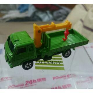 Tomica 無盒 No.80 Nissan Diesel Condor Crane Cargo Truck