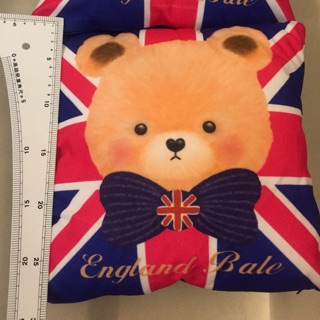 英國小熊抱枕 英國國旗