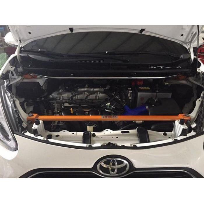 (小鳥的店) 豐田 2016-19 SIENTA 專用鋁合金 水箱拉桿 SUMMIT 引擎室平衡桿 拉桿 RAV-4