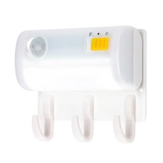 [DOM]- 現貨 新款LED紅外線人體感應燈磁鐵鉤勾