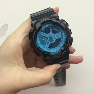 Casio G-shock GA-110B-1A2DR 黑藍(二手 沒有小燈)