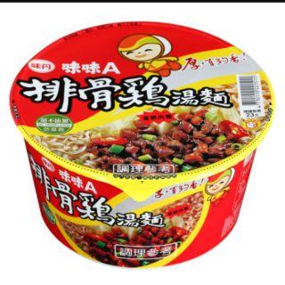 味味A排骨雞麵一箱(12入)