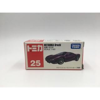 Tomica No.25 MITSUOKA Orochi 中國製