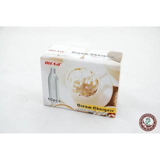 【大樹咖啡】MOSA 奶油槍氣彈 氮氣 N2O 充氣瓶 (非CO2) mypressi TWIST 咖啡機適用