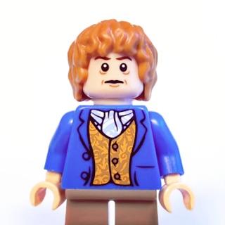 [稀有人偶]LEGO 樂高 The Hobbit 哈比人 Bilbo Baggins 藍外套版