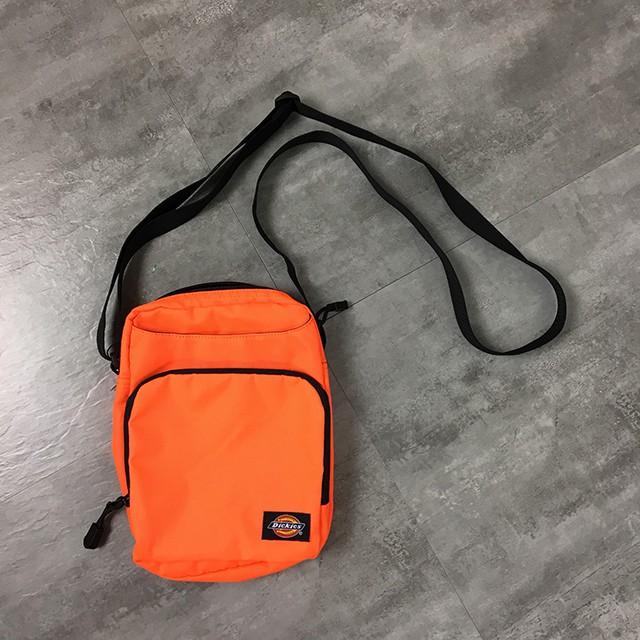 Dickies 防潑水小型斜背包 橘 WDB17418 藤原本舖