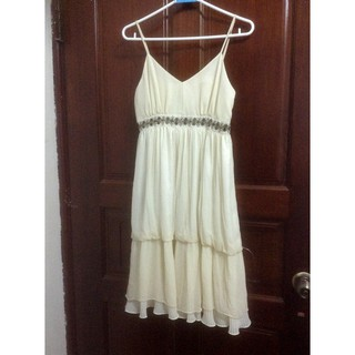 美國品牌DW ORBITAL蠶絲細肩帶洋裝