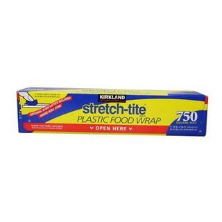 好市多代購 cosco每週三五採購 現貨當天出貨好好買好便宜 Kirkland自有品牌Stretch-tite保鮮膜2入