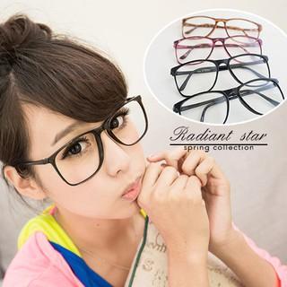 復古超輕架鏡框可拆鏡片雜誌韓網 眼鏡~1688