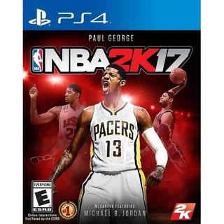 PS4 NBA 2K17 中英文亞版 二手品