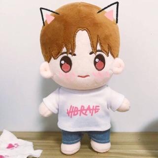 [代購] NCT 中飯自製 娃娃 桃桃玹 20公分 JAEHYUN 在玹 NCT U NCT 127