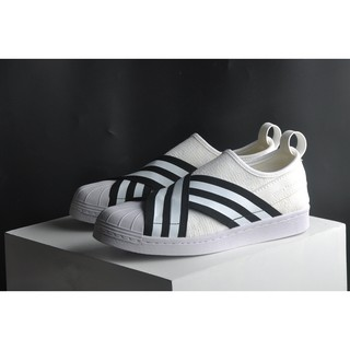 正品聯名White Mountaineering x Adidas superstar slip on 繃帶鞋情侶款
