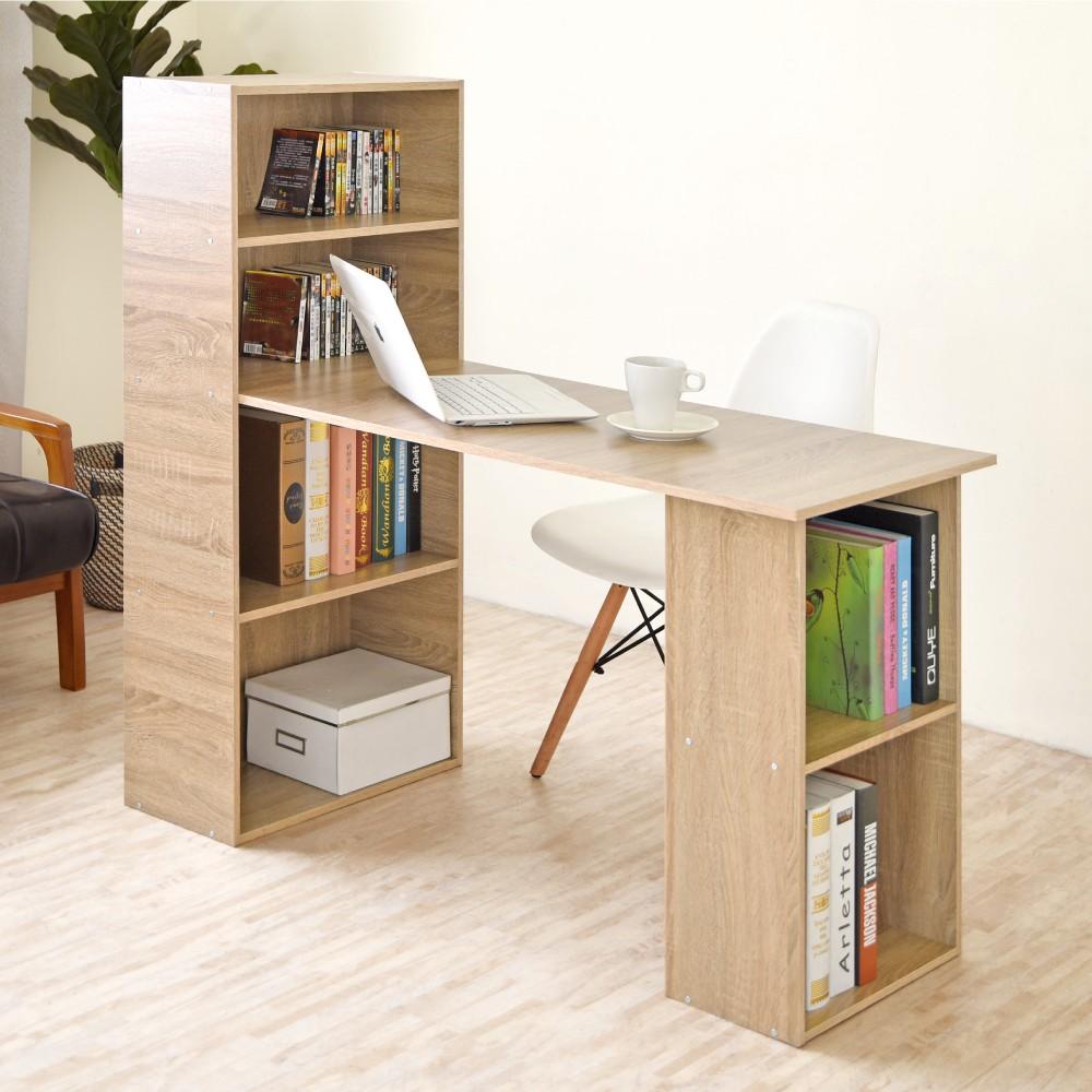 HOPMA水漾4+2書櫃型書桌E-6C120MO