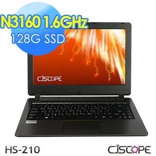 兜兜代購-CJSCOPE HS-210 (N3160/8G/128G/nOS)    萬元 11.6吋攜帶型筆電