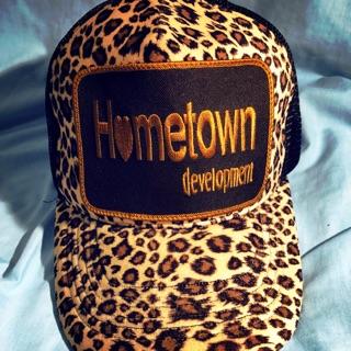 Hometown豹紋帽