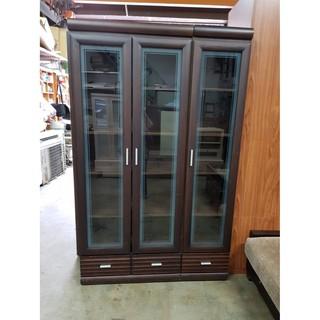 胡桃木色衣櫃 二手家具 中古家具 二手書櫃 中古書櫃