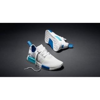 Adidas originals BOOST NMD 愛迪達 超夯 白藍 男女情侶鞋