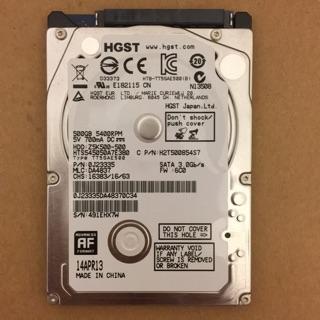 HGST 1TB 全新裸裝 2.5吋 保固內 送 2.5轉3.5 支架