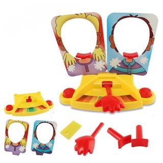 創意小物/雙人砸派機桌遊 --- 蝦米小物* 團康玩很大/真心話大冒險/拚手氣/賓果益智玩具/桌面遊戲/拼裝人體模型