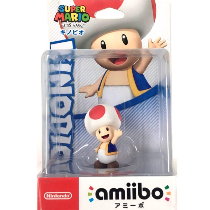 仼天堂 Nintendo Switch 台灣公司貨 amiibo 公仔 KINOPIO 奇諾比隊長 超級瑪利歐系列