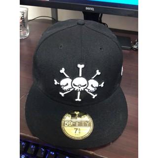 日版 New Era x One Piece 航海王 海賊王 黑鬍子海賊團 馬歇爾·D·汀奇 7 5/8 60.6CM