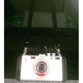 相機造型蘋果i7 i7plus手機殼iphone5/5s/se i6/6s i6plus掛繩防摔保護殼
