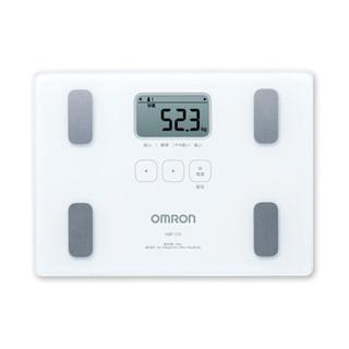 現貨 日本帶回 Omron歐姆龍體脂計HBF-212 白色