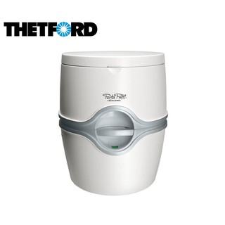 丹大戶外用品 荷蘭【THETFORD】92330 豪華行動馬桶 居家照護上15L/下21L(附污水指示、衛生紙架)