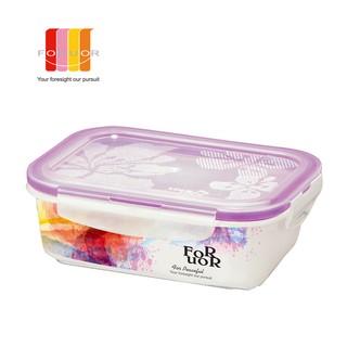 【FORUOR】700ml 紫色渲染陶瓷保鮮盒 FU-EC026A 現貨199元 下標馬上出