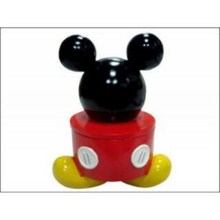 全新正版迪士尼米奇公仔撲滿置物罐